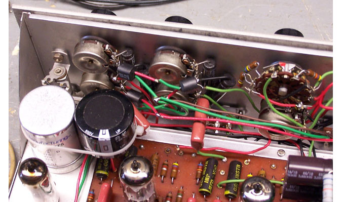 Tone control bypass Vactrols
