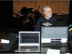 Recording rack setup